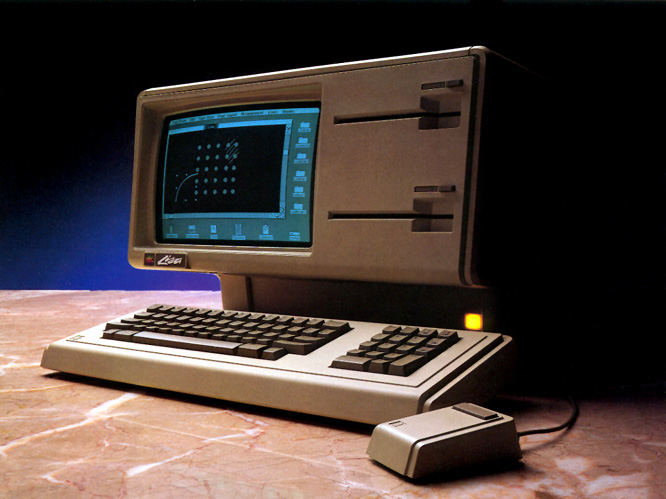 Promotional photo of the apple lisa 1 apple computer inc photo of